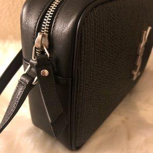 308872821aa Saint Laurent Bags - Saint Laurent YSL Lou camera bag in linen/leather